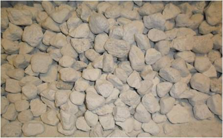 Lava rock blocks